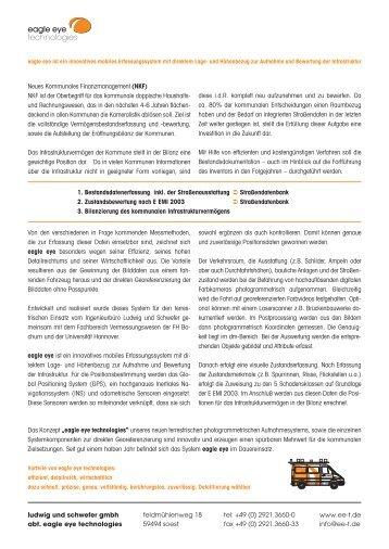 Presseinfo. - Ludwig und Schwefer GmbH