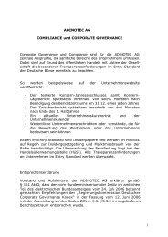 Compliance und Corporate Governance 2007 - adinotec