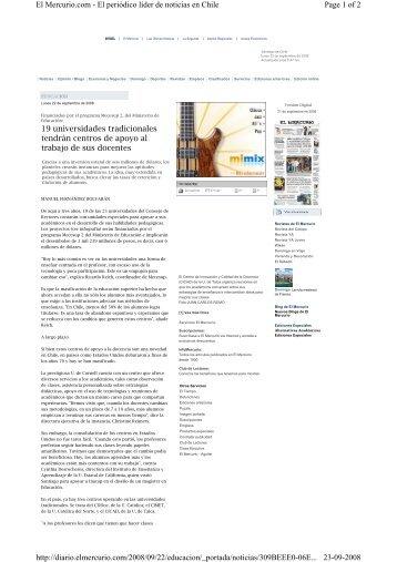Page 1 of 2 El Mercurio.com - El periódico líder de noticias en Chile ...
