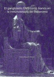 El gangliósido GM3 como blanco en la inmunoterapia del melanoma