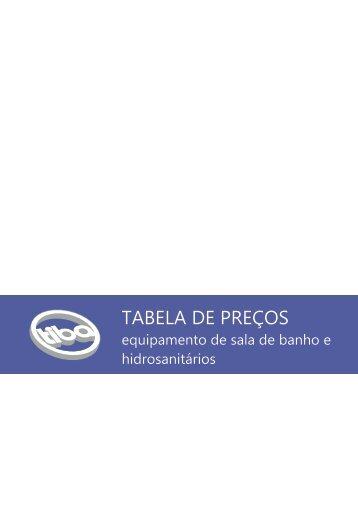 TABELA DE PREÇOS - Tiba