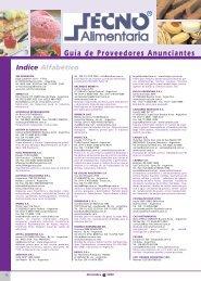 Guía de Proveedores Anunciantes