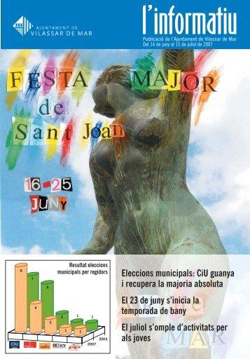 Juny 2007.pdf - Ajuntament de Vilassar de Mar