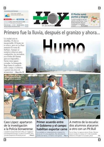 Primero fue la lluvia, después el granizo y ahora... - Diario Hoy