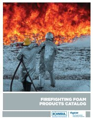 firefighting foam products catalog - 5 Alarm Fire and Safety Equipment