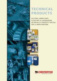 detergente per motori elettrici - A.W. Chesterton Company