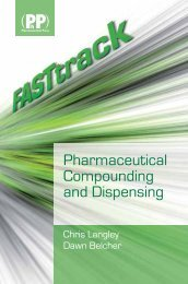 Pharmaceutical Compounding and Dispensing - Pharmaceutics