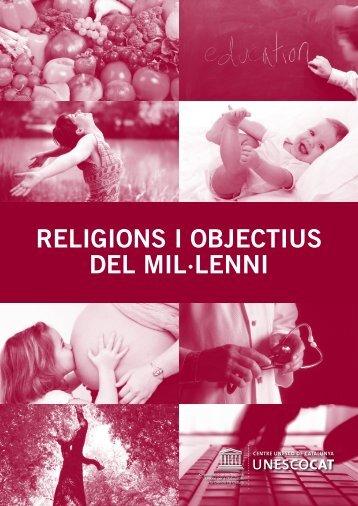 Religions i objectius del mil·lenni - Centre UNESCO de Catalunya