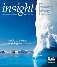 Insight magazine issue 4 2012 (pdf, 7263kb) - Lloyd's Register