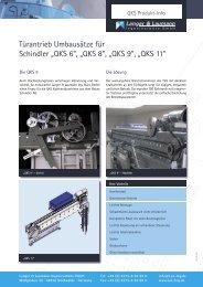 Schindler QKS 6 / 8 / 9 / 11 - Langer & Laumann Ing. Büro GmbH