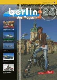 Berlin 24 Das Magazin Ausgabe 9