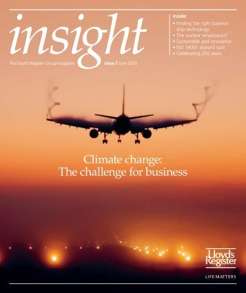 Insight magazine issue 1 2010 (pdf, 3202kb) - Lloyd's Register