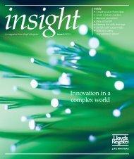 Insight magazine issue 1/2013 (pdf, 14833kb) - Lloyd's Register