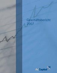 Geschäftsbericht 2007 - Investor-Relations