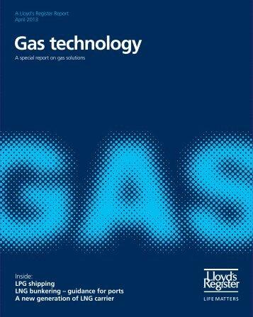 Gas technology (pdf, 6478kb) - Lloyd's Register