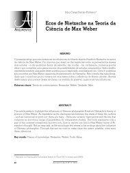 o artigo em formato PDF - Curso de Filosofia - UFC