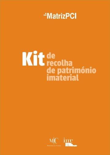 de recolha de património imaterial - MatrizPCI - Instituto dos Museus ...
