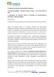 X Congresso Nacional das Misericórdias Portuguesas - cases