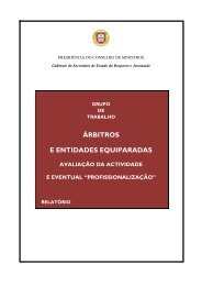 árbitros e entidades equiparadas - Federação Equestre Portuguesa