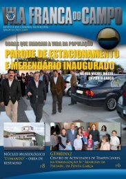 Revista - Câmara Municipal de Vila Franca do Campo