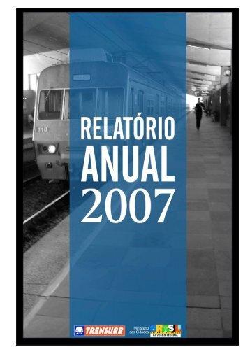 MINUTA – RELATÓRIO DE GESTÃO 2007 - 03/04/08 - Trensurb
