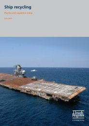 Ship recycling Practice and regulation today (Published June 2011)