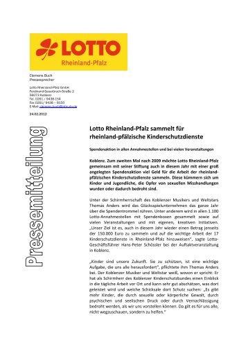 Download - Lotto Rheinland-Pfalz
