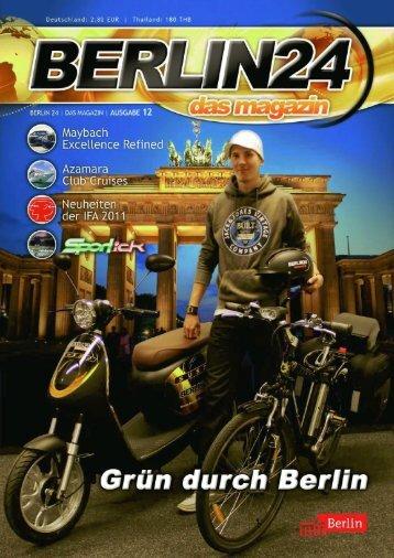 Berlin 24 Das Magazin Ausgabe 12
