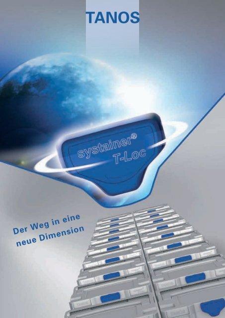6 Trennstege für T-Loc Systainer TANOS Tiefziehteil 3-fach inkl