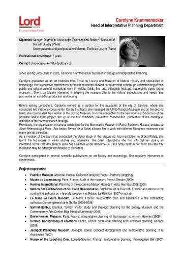 Carolyne Krummenacker.pdf - Lord Cultural Resources