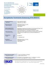 Europäische Technische Zulassung ETA-09/0313 - ACP ...