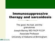 immunosuppressive-therapy-and-sarcoidosis