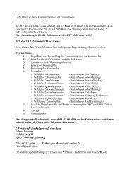 LV OWL-Mitglieder Einladung und Programm - des ...