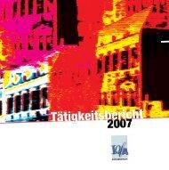 Tätigkeitsbericht 2007 (PDF 6,5MB) - Lola
