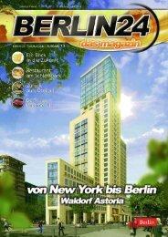 Berlin 24 Das Magazin Ausgabe 13