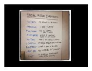 Creating Your Social Media Strategy - Lord Cultural Resources