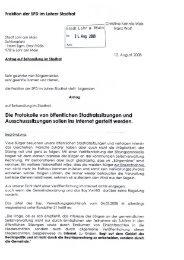 Fraktion der SPD im Lohrer Stadtrat - Lohr a. Main
