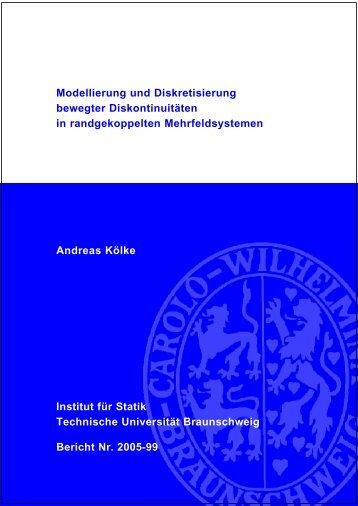 Modellierung und Diskretisierung bewegter Diskontinuitäten in ...