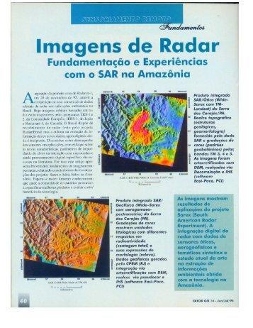 Imagens de Radar - Unicamp