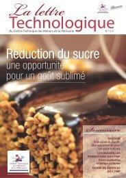 Lettre Technologique n°22 - Patisserie Artisanale