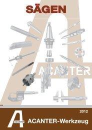 Hartmetall Art. - acanter.de