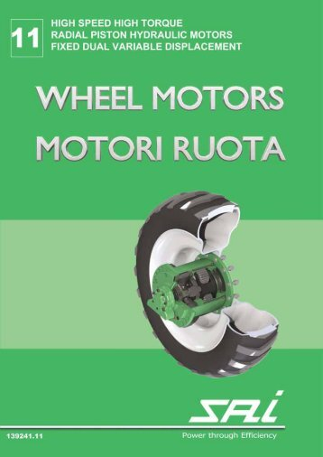 WHEEL MOTORS MOTORI RUOTA - SAI SpA