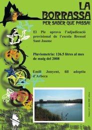 Núm 13 - Juliol 2008 - Ajuntament d'Arbeca