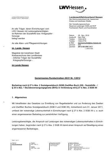 20/21 Nr. 1/2012 - Landeswohlfahrtsverband Hessen