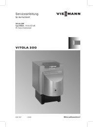 Vitola 200 (Typ VB2A) Serviceanleitung