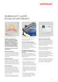 Weishaupt Solar-System WTS-F1 - Ruhland GmbH - Seite 5