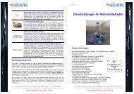 Dienstleistungen für Rohrnetzbetreiber - Locatec Ortungstechnik ...