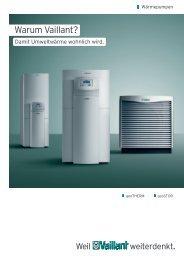 Wärmepumpensysteme Vaillant - Lohschmidt - Solar und Energie