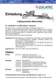 Einladung und Anmeldung Bikertreffen 2011.pdf - Locatec ...