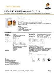 11466 2K Duo anti-slip R9 & R10 - Loba